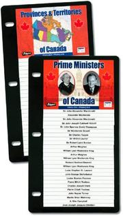 Cover of: Prime Ministers of Canada (Flippers) |