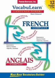Cover of: French Complete/Anglais Complet (Vocabulearn)