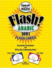 Cover of: Speak in a Week Flash! Arabic