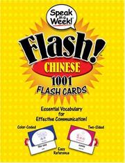 Cover of: Speak in a Week Flash! Chinese