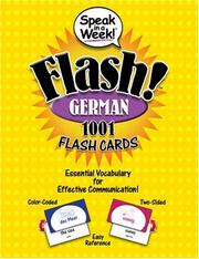 Cover of: Speak in a Week Flash! German