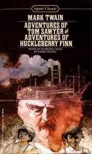 Cover of: The Adventures of Tom Sawyer and The Adventures of Huckleberry Finn