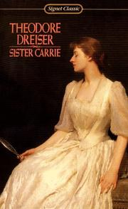 Cover of: Sister Carrie