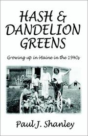 Cover of: Hash & Dandelion Greens