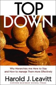 Cover of: Top Down