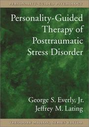 Cover of: Personality-guided therapy for posttraumatic stress disorder