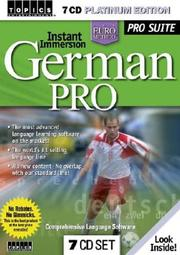 Instant Immersion German Pro (Instant Immersion)
