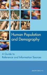 Cover of: Human Population And Demography | Jason Xiao Yu