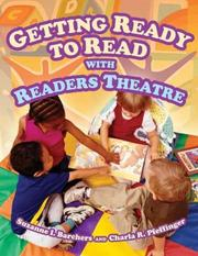 Cover of: Getting Ready to Read with Readers Theatre