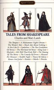Cover of: Tales from Shakespeare by Charles Lamb, Mary Lamb