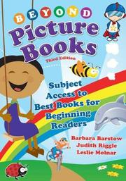 Cover of: Beyond Picture Books | Barbara Barstow, Judith Riggle, Leslie M. Molnar
