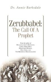 Cover of: Zerubbabel | Annie Barksdale