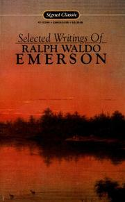 Cover of: Emerson