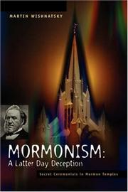 Cover of: Mormonism | Martin Wishnatsky
