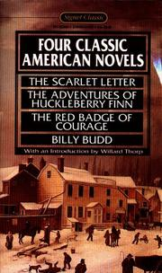 Cover of: Four Classic American Novels