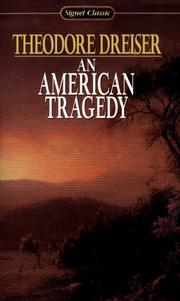 Cover of: An American Tragedy |