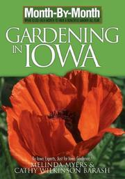 Cover of: Month by Month Gardening in Iowa | Melinda Myers