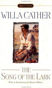 Cover of: The Song of the Lark | Willa Cather