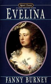 Cover of: Evelina