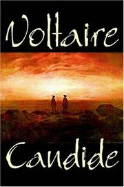 Cover of: Candide | Voltaire