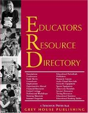 Cover of: Educators Resource Directory 2003/04 (Educators Resource Directory) |