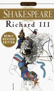 Cover of: Richard III (Signet Classics) by William Shakespeare