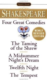 Cover of: Four Great Comedies | William Shakespeare