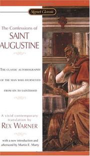 Cover of: The Confessions of St. Augustine | Augustine of Hippo