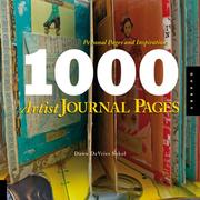 Cover of: 1,000 Artist Journal Pages | Dawn DeVries Sokol