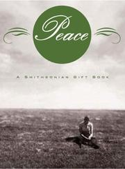 Cover of: Peace: Smithsonian Gift Book (Smithsonian Gift Books Series)