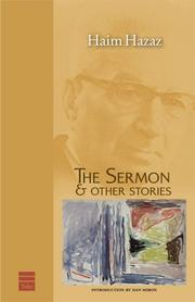 Cover of: The Sermon & Other Stories (Hebrew Classics)