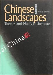 Cover of: Chinese Landscapes | Zhao, Lihong