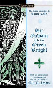 Cover of: Sir Gawain and the Green Knight (Signet Classics) | Anonymous