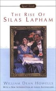 the rise of silas lapham The the rise of silas lapham community note includes chapter-by-chapter summary and analysis, character list, theme list, historical context, author biography and.