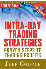Cover of: Intra-Day Trading Strategies Course Book with DVD | Jeff Cooper