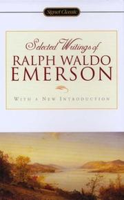 Cover of: Selected writings of Ralph Waldo Emerson