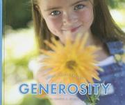 Cover of: Generosity (Learn About Values)