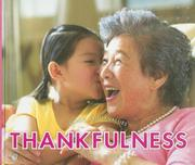 Thankfulness (Learn About Values)