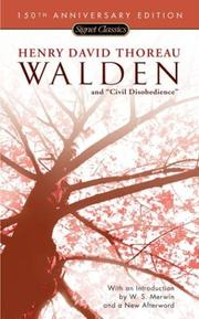 Cover of: Walden and Civil Disobedience (150th Anniversary) (Signet Classics) | Henry David Thoreau