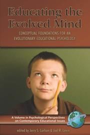 Cover of: Educating the Evolved Mind |