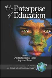 Cover of: The Enterprise of Education (PB) (Research on Education in Africa, the Caribbean, & the Middle East) |