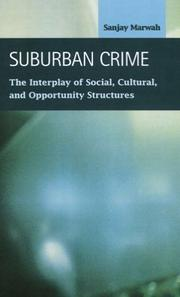 Cover of: Suburban Crime | Sanjay Marwah