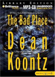 Cover of: The bad place