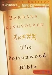 Cover of: Poisonwood Bible, The | Barbara Kingsolver