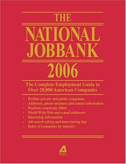 The National Job Bank 2006