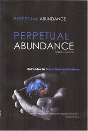 Cover of: Perpetual Abundance by Derrick Jackson