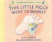Cover of: This Little Piggy Went to Market (Nursery Play-Along Classic)