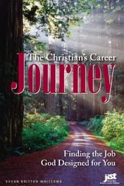 Cover of: The Christian's Career Journey by Susan Britton Whitcomb