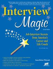 Cover of: Interview Magic | Susan Britton Whitcomb