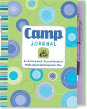 Cover of: Camp: An Activity Book, Record Keeper & Photo Album All wrapped in One (Activity Book Series)